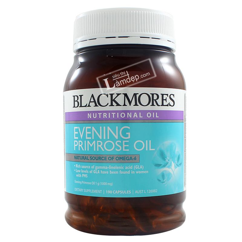 Viên Uống Tinh Dầu Hoa Anh Thảo Blackmores Evening Primrose Oil 190 Viên
