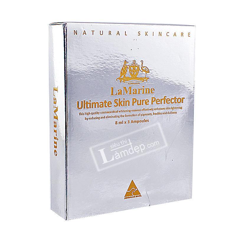 Tinh Chất Nhau Thai Cừu Làm Trắng Da, Chống Lão Hóa - Lamarine Ultimate Skin Pure Perfector