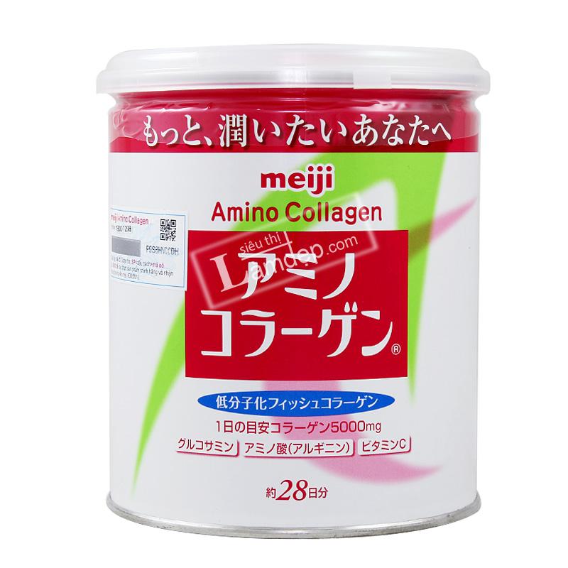 Amino Collagen Meiji Dạng Bột Chính Hãng Từ Nhật Bản
