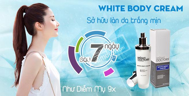 kem dưỡng da 7 ngày siêu trắng White Body Cream