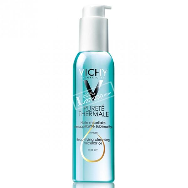 Dầu Tẩy Trang Toàn Mặt Vichy Purete Thermal Micellar Oil (125ml)