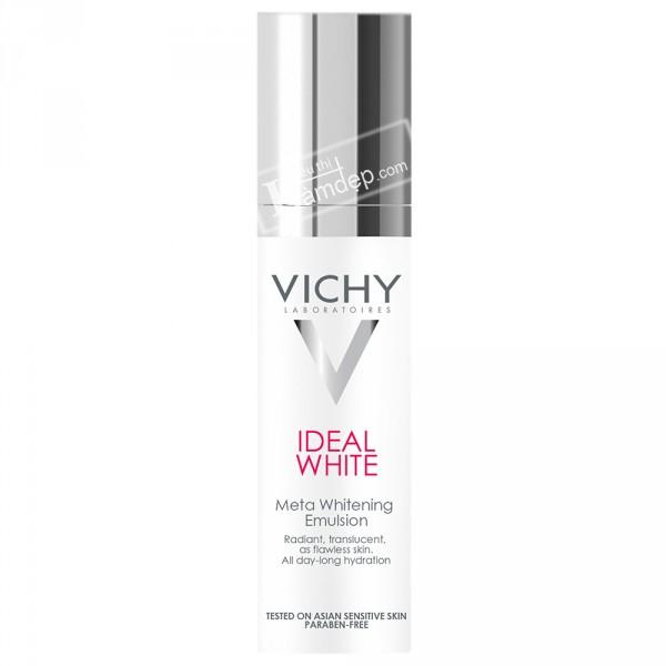 Dung Dịch Dưỡng Trắng Da Và Giảm Thâm Nám Từ Sâu Bên Trong Vichy Ideal White Meta Whitening Emulsion