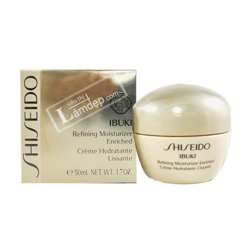Kem Dưỡng Ẩm Shiseido Ibuki Refining Moisturizer Enriched