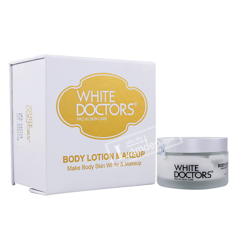 Kem Trang Điểm Trắng Da Toàn Thân Chống Nắng White Doctors Body Lotion Makeup