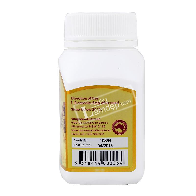 Sữa Ong Chúa Vitatree Super Royal Jelly (1600mg x 100 Viên)