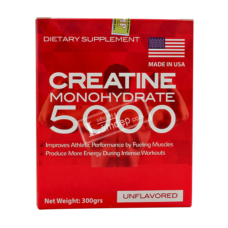 Bột Dinh Dưỡng Tăng Cân, Tăng Cơ Creatine Monohydrate 5000