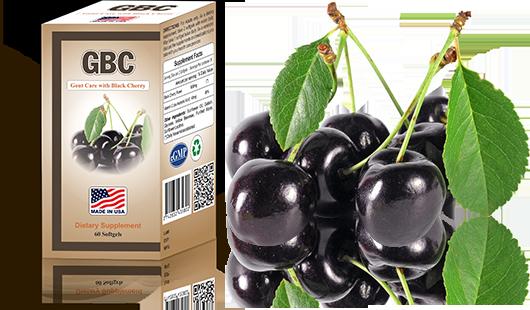 Thuốc Hỗ Trợ Điều Trị Gout GBC (Gout Care with Black Cherry) (60 Viên)