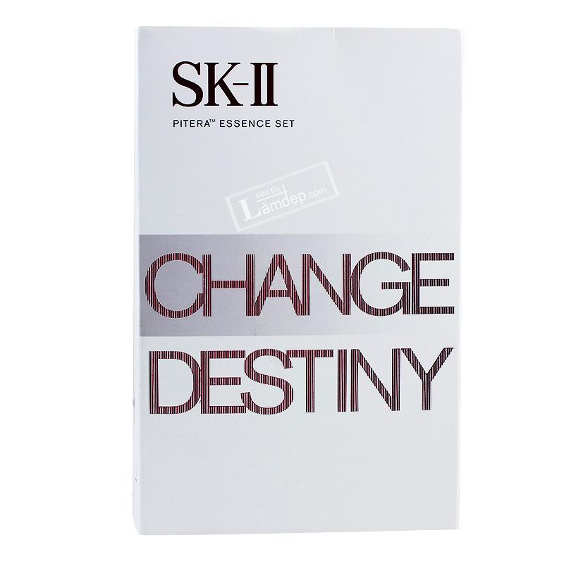 Bộ Sản Phẩm Chăm Sóc Da Chống Lão Hóa SK-II Change Destiny Pitera Essence Set