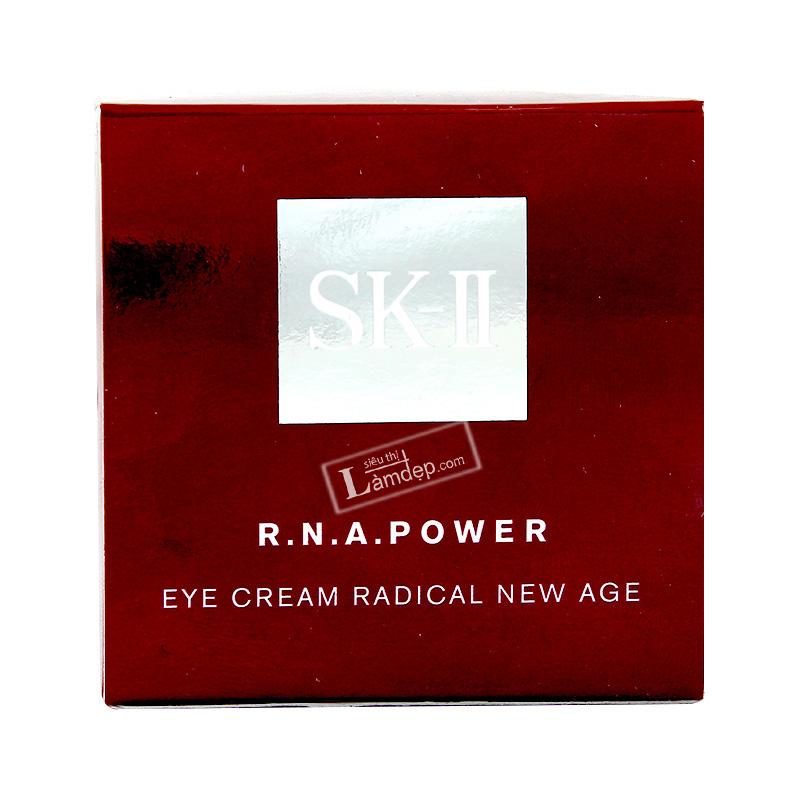 Kem Dưỡng Chống Nhăn, Chống Lão Hóa Da Vùng Mắt SK-II R.N.A.Power Eye Cream Radical New Age