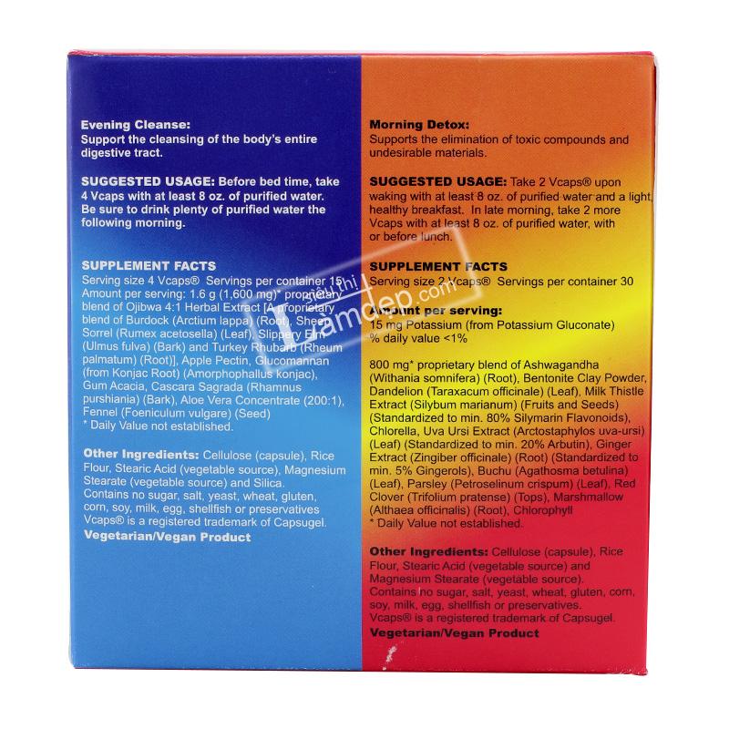 Số 006.1 - TPCN Bộ Tẩy Độc Tố Cho Cơ Thể Detox All - Super Cleanse