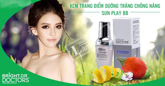 Kem Chống Nắng Trang Điểm Trắng Da Bright.Dr Doctors Sunplay BB Cream