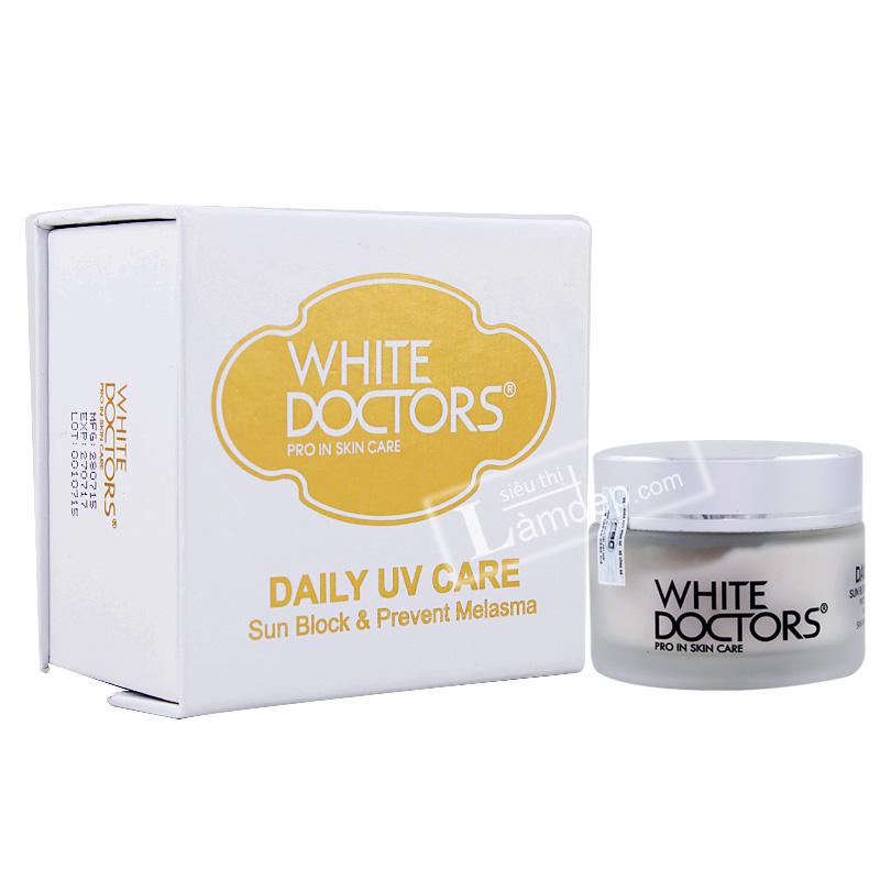 Kem Chống Nắng Trị Nám White Doctors Daily UV Care