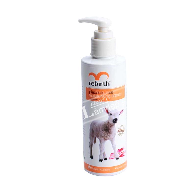 Sữa Dưỡng Thể Nhau Cừu Và Tinh Chất Hoa Hồng Rebirth