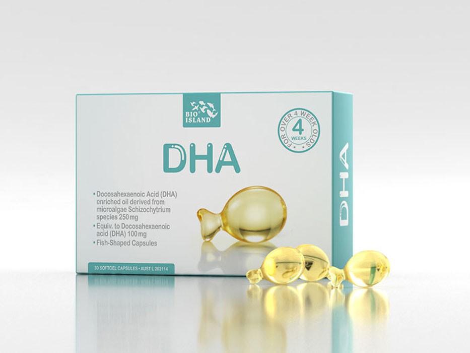 Viên Uống Bổ Sung DHA Bio Island Úc