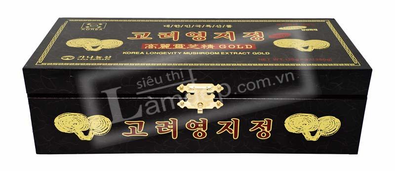 Trên hộp gõ được đóng logo của hệ thống phân phối hàng chính hãng, chất lượng