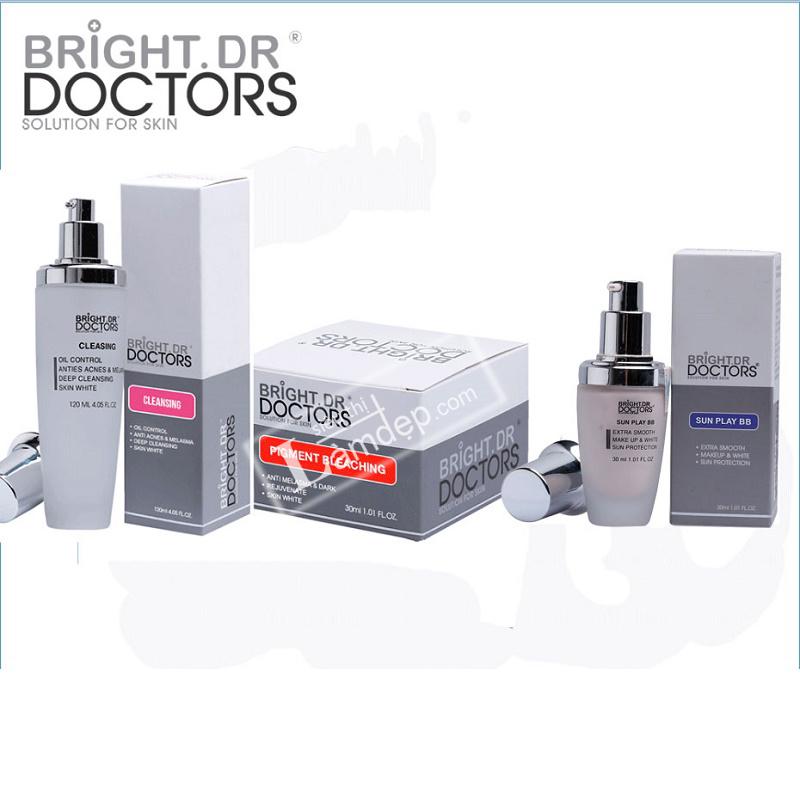 Bộ 3 Sản Phẩm Siêu Trị Nám Hoàn Hảo Bright.Dr Doctors