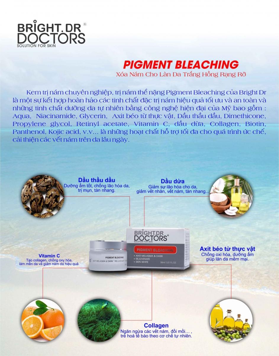 Kem Trị Nám Chuyên Nghiệp Pigment Bleaching