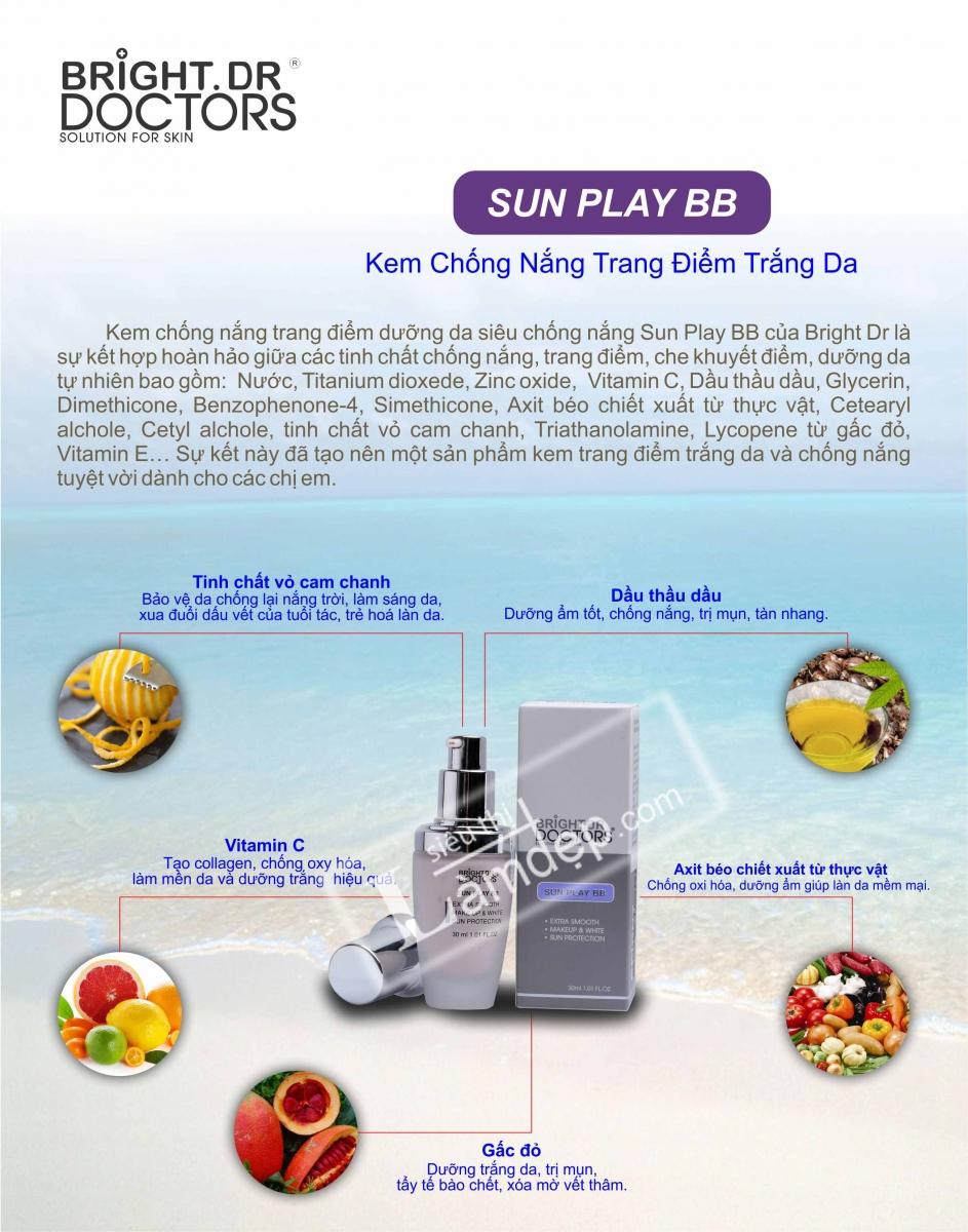 Vệ Da Với Kem Chống Nắng Sunplay BB Cream