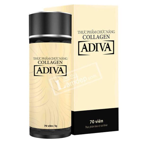 Collagen Adiva Dạng Viên (Lọ 70 Viên)