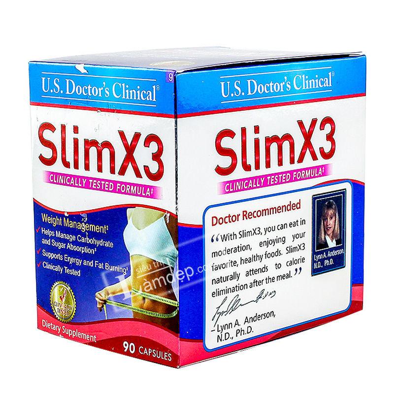Viên Uống Giảm Cân Slim X3