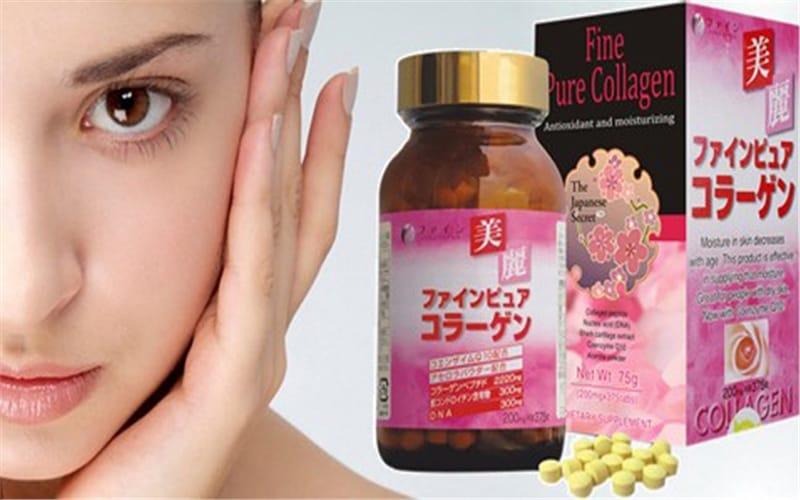 Hình ảnh mặt trước của Fine Pure Collagen