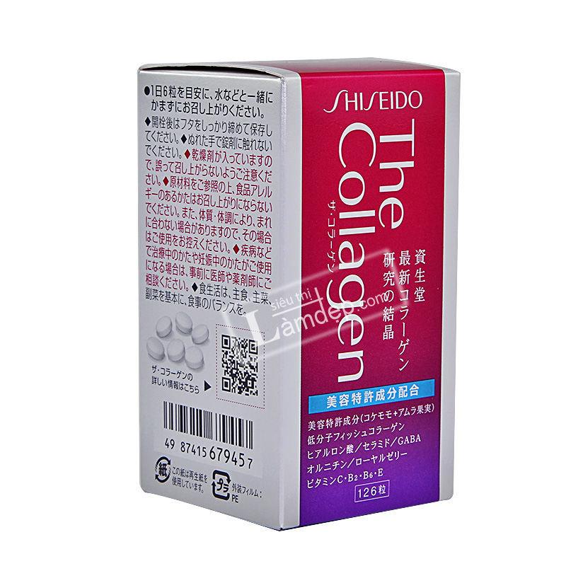Viên Uống The Collagen Shiseido Nhật Bản 126 Viên