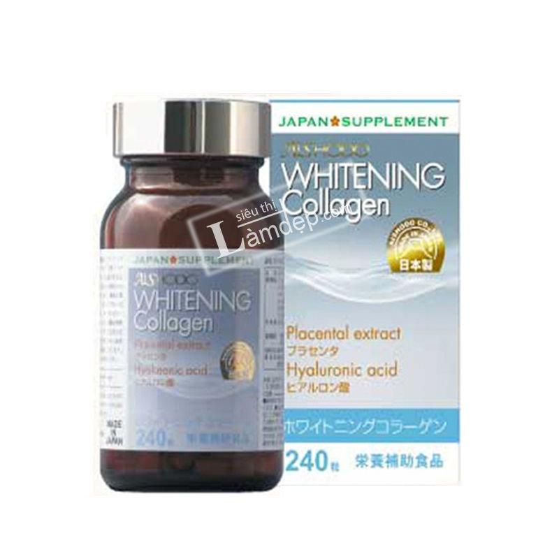 Viên Uống Trắng Da, Trị Nám Whitening Collagen Aishodo Nhật Bản