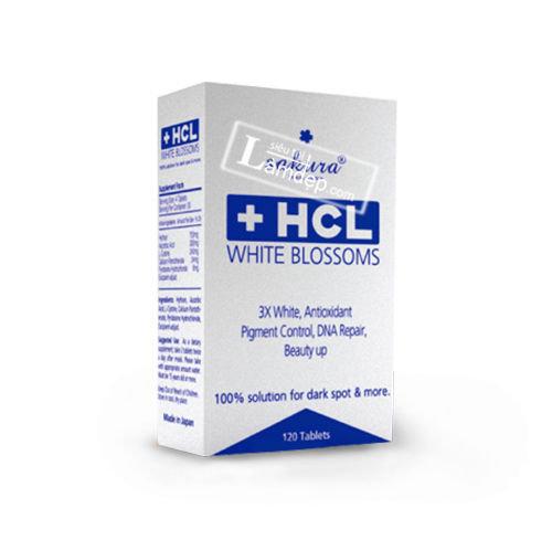 Viên Uống Trị Nám Trắng Da Sakura HCL White Blossoms