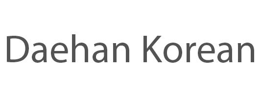 Daehan Korean