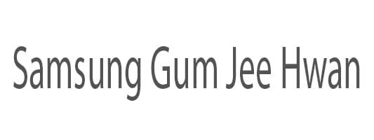 Samsung Gum Jee Hwan