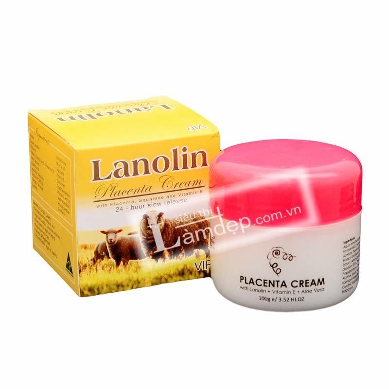 Kem Nhau Thai Cừu Lanolin Placenta 100gr