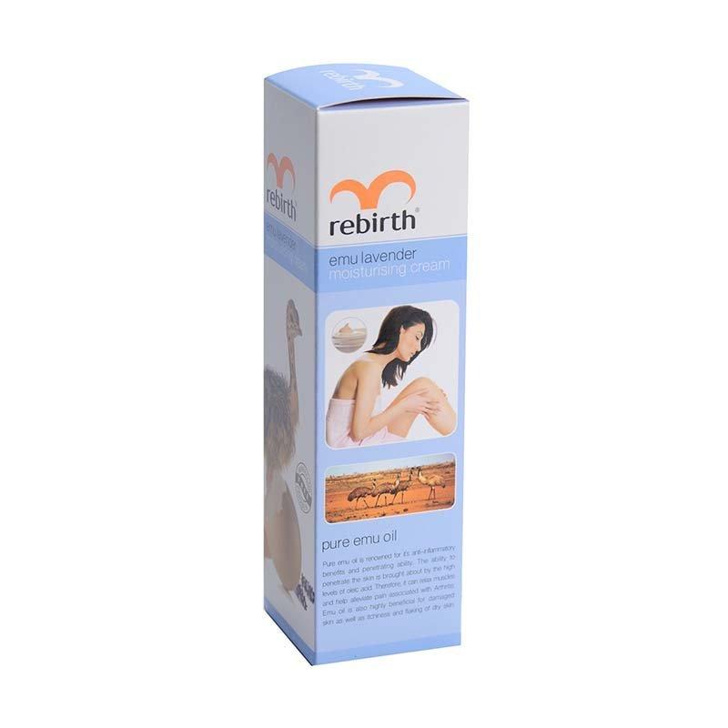 Sữa Dưỡng Thể Làm Trắng Da Tinh Dầu Đà Điểu Rebirth
