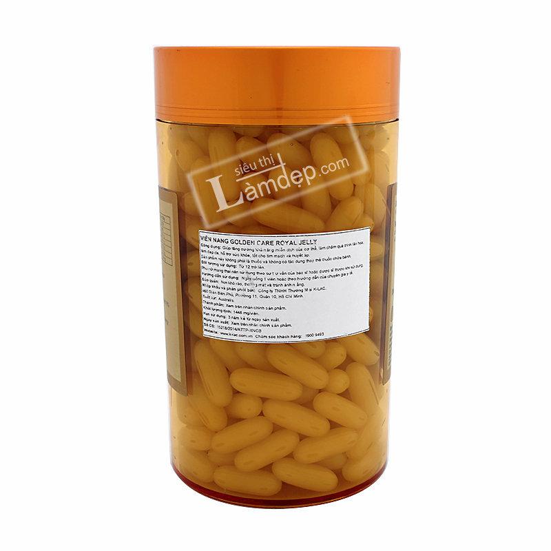 Sữa Ong Chúa Golden Care Royal Jelly (1000 mg x 365 Viên)