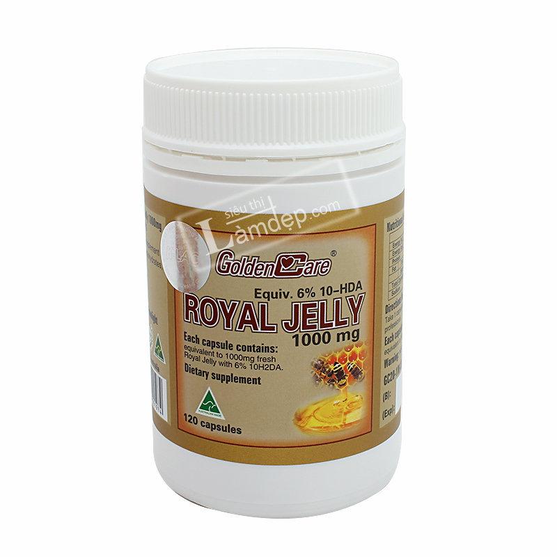 Sữa Ong Chúa Golden Care Royal Jelly (1000 mg x 120 Viên)